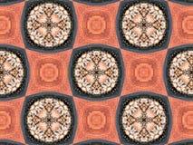 Abstrakcjonistyczna kalejdoskopowa tekstura Zdjęcia Stock
