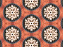 Abstrakcjonistyczna kalejdoskopowa tekstura Obraz Royalty Free
