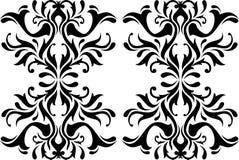 Abstrakcjonistyczna kaligrafia Obraz Royalty Free