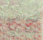 abstrakcjonistyczna kanwa Obrazy Stock