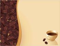 abstrakcjonistyczna kawa Fotografia Royalty Free