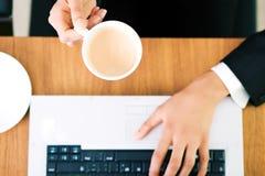 abstrakcjonistyczna kawa espresso zdjęcia stock