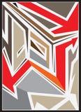 Abstrakcjonistyczna kolor sztuka Zdjęcia Royalty Free