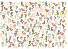Abstrakcjonistyczna kolorowa akwarela obraz stock