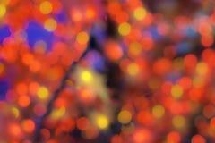 Abstrakcjonistyczna kolorowa defocused kurenda, tło/ zdjęcia stock