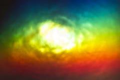 Abstrakcjonistyczna Kolorowa plama Obrazy Royalty Free