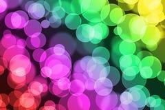 Abstrakcjonistyczna kolorowa plama zaświeca tło lub Zdjęcia Stock
