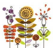 abstrakcjonistyczna kolorowa roślina Zdjęcie Stock