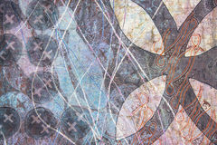 abstrakcjonistyczna kolorowa tkanina Zdjęcia Royalty Free