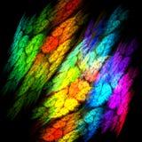 Abstrakcjonistyczna kolorowa tropikalna ilustracja Obraz Stock