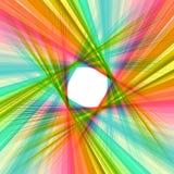 Abstrakcjonistyczna kolorowa zawijasa tła ilustracja Obraz Royalty Free