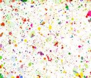 Abstrakcjonistyczna koloru pluśnięcia tła ilustracja zdjęcia royalty free