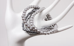 abstrakcjonistyczna kostiumowa biżuteria Zdjęcia Stock