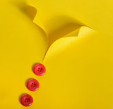 Abstrakcjonistyczna koszula i guziki Obrazy Stock