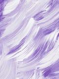 Abstrakcjonistyczna kreatywnie fiołkowa ręka malujący tło Fotografia Stock
