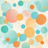 Abstrakcjonistyczna kropki ilustracja Fotografia Royalty Free