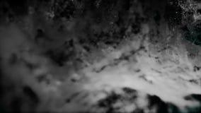 Abstrakcjonistyczna kropki matryca zapętlał w falowym wzorze Czytać gładki rozedrgany widmo Pętla przygotowywająca animacja abstr ilustracji