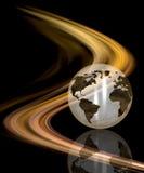 abstrakcjonistyczna kula ziemska Zdjęcie Stock