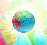 Abstrakcjonistyczna kuli ziemskiej planeta Fotografia Stock