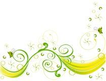 abstrakcjonistyczna kwiatu g ilustraci menchii wiosna royalty ilustracja