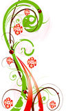 abstrakcjonistyczna kwiatu g ilustraci menchii wiosna Obraz Royalty Free