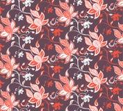 abstrakcjonistyczna kwiecista czerwień Zdjęcie Royalty Free