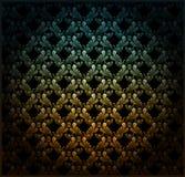 abstrakcjonistyczna kwiecista tapeta Obrazy Royalty Free