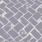 Abstrakcjonistyczna lastryko podłoga wyplata pastelową grunge kamienia teksturę Bezszwowy wektoru wzór na popielatym tle z mi royalty ilustracja