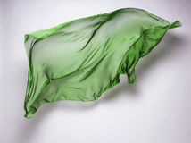 Abstrakcjonistyczna latająca tkanina Zdjęcia Stock