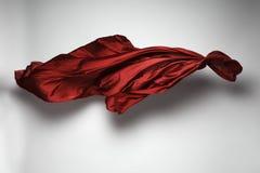 Abstrakcjonistyczna latająca tkanina Obrazy Royalty Free