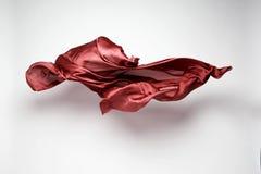 Abstrakcjonistyczna latająca tkanina Zdjęcie Royalty Free