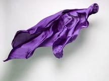 Abstrakcjonistyczna latająca tkanina Fotografia Stock