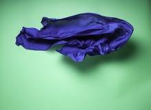 Abstrakcjonistyczna latająca tkanina Zdjęcia Royalty Free