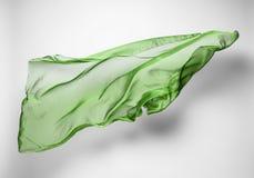 Abstrakcjonistyczna latająca tkanina Fotografia Royalty Free