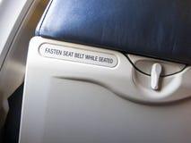 Abstrakcjonistyczna linia lotnicza, Latający podróży lub bezpieczeństwa pojęcie Zdjęcie Royalty Free
