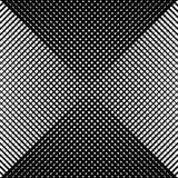 Abstrakcjonistyczna liniowa czarny i biały tekstura Siatka, szyk linii ge royalty ilustracja