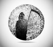 abstrakcjonistyczna magiczna sfera Zdjęcie Royalty Free
