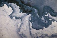 Abstrakcjonistyczna mapy tekstura Zdjęcia Royalty Free
