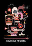 Abstrakcjonistyczna maszyna Zdjęcie Stock