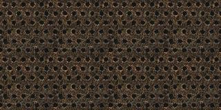 Abstrakcjonistyczna metalu włókna powierzchnia Obrazy Stock