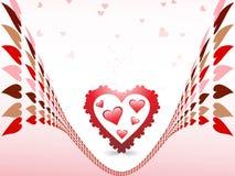 abstrakcjonistyczna miłość Zdjęcia Royalty Free
