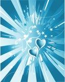 abstrakcjonistyczna miłość Zdjęcie Royalty Free