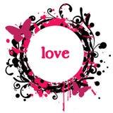 abstrakcjonistyczna miłość Zdjęcie Stock