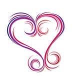 abstrakcjonistyczna miłość Obraz Royalty Free