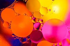 Abstrakcjonistyczna molekuły struktura Makro- strzał powietrze lub molekuła abstrakcyjny tło Astronautyczny lub planety abstrakta Obrazy Stock