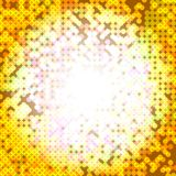 abstrakcjonistyczna mozaika Obraz Stock