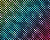 Abstrakcjonistyczna mozaika neonowy background_3 Fotografia Stock