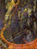 abstrakcjonistyczna muzyka Obrazy Royalty Free