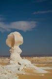 Abstrakcjonistyczna natura rzeźbi w biel pustyni, Sahara Egipt Zdjęcie Royalty Free