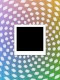 abstrakcjonistyczna natychmiastowa fotografia Zdjęcia Stock